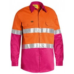3M TAPED HI VIS COOL LIGHTWEIGHT SHIRT WITH - BS6696T