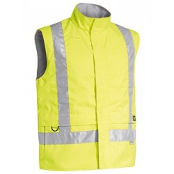 3M TAPED HI VIS ANTI STATIC WET WEATHER VEST - BV0363T