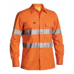 3M TAPED HI VIS X AIRFLOW RIPSTOP SHIRT - LONG - BS6416T