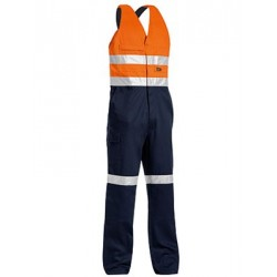 3M TAPED TWO TONE HI VIS ACTION BACK OVERALL - BAB0359T