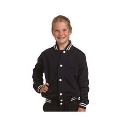 Kid's Fleece Varsity Jacket - FL11K