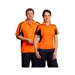 Men's TrueDry Short Sleeve Safety Polo - SW25