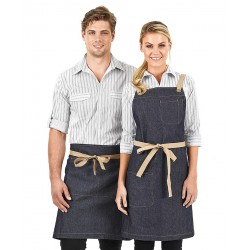 Original Denim Waist Apron with contrast straps - A15