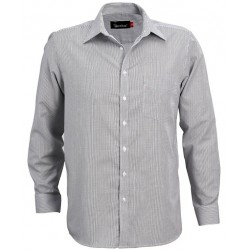 Men's Long Sleeve Corporate Check Shirt - W37