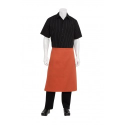3/4 Bistro Apron No Pocket - F24S