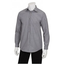Chambray Dress Shirt (Men's) - SLMCH005