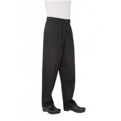 Black Basic Baggy Pants - NBBP