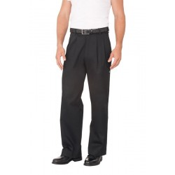 Black Basic Chef Pant - CEBP