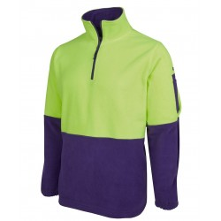 JB's HI VIS 1/2 ZIP POLAR FLEECE - 6HVPF