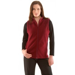 Ladies Poly Fleece Vest - PF905