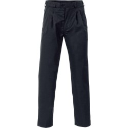 Mens Poly/Viscose Pleat Front Pants - 4502