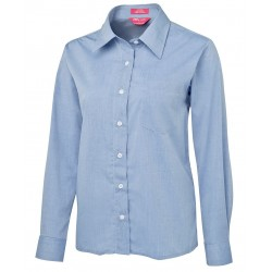 JB's LADIES L/S FINE CHAMBRAY SHIRT - 4LSL
