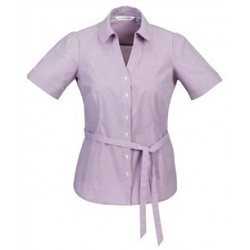 BERLIN Y-LINE LADIES SHORT SLEEVE SHIRT - S261LS