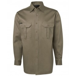 JB's L/S 190G WORK SHIRT - 6WLS