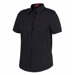 Ladies Epaulette Shirt S/S - 6ESS1