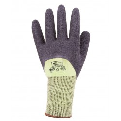Bamboo Latex Crinkle 3/4 Dipped Glove - 8R025