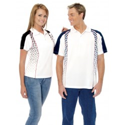 Ladies Northern Checker Polo - ST1048