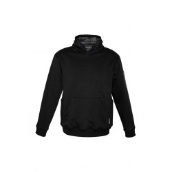Multi-pocket Hoodie Black/Charcoal - ZT467