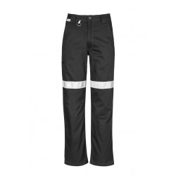 Mens Taped Utility Pant Black - ZW004
