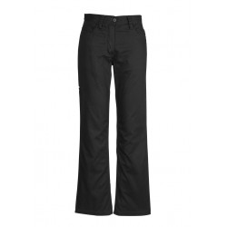 Womens Plain Utility Pant Black - ZWL002