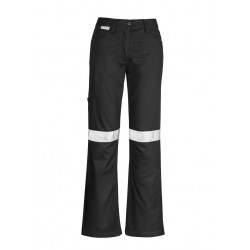 Womens Taped Utility Pant Black - ZWL004