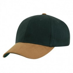 Sueded Peak Cap - 4281