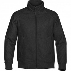 Men's Warrior Club Jacket Black - WCJ-1