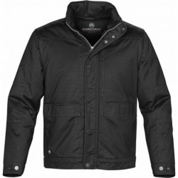 Outback Waxed Twill Jacket Black - WCT-2