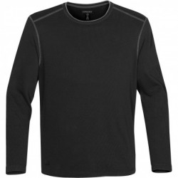 Men's Hanford Crew Neck Top BL/CH - FBR-1