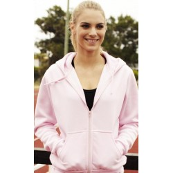 ADULTS ZIP THROUGH FLEECE HOODIE - CJ1062