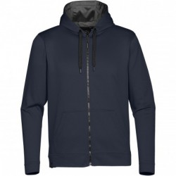 Mens ATLANTIS FULL ZIP FLEECE HOODIE - SFZ-1