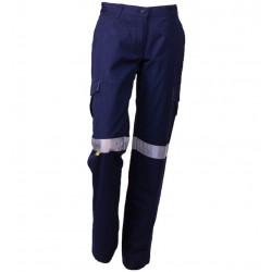 Ladies Mid Weight Cargo w. 3M Tape - DTW1150T