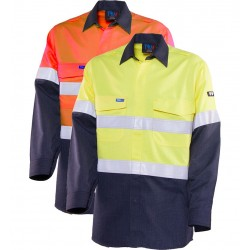 Shirt Inherent Fire Retardant HRC 1 w. Loxy FR Tape - TS2500T1