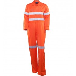 Coverall Inherent Fire Retardant HRC 2 w. Loxy FR Tape - TC1570T1