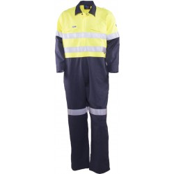 Coverall Inherent Fire Retardant HRC 2 w. Loxy FR Tape - TC2570T1