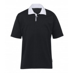 Rugby Jersey Black/White - RBJ