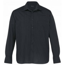 The Omega Stripe Long Sleeve Shirt - Mens - TOLS
