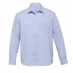 The Urban Mini Rectangle Shirt Blue/White - Mens - TU