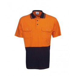 100% Cotton Hi Vis S/S polo, Day Use - P94