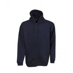 Full Zip Fleecy Hoodie, Childrens - F04K