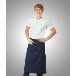Long Waist Apron, Pocket - A02