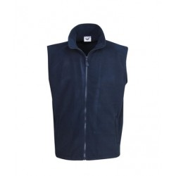 Full-zipped polar fleece Vest - F14