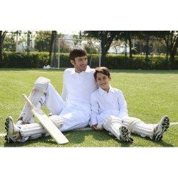 ADULTS LONG SLEEVE CRICKET POLO - CP1213
