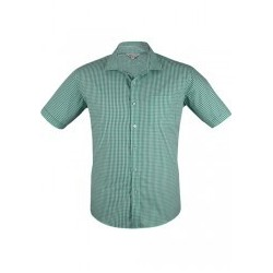 Mens Epsom Short Sleeve Emerald - 1907S