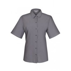 Ladies Belair Short Sleeve Shirt Ash - 2905S