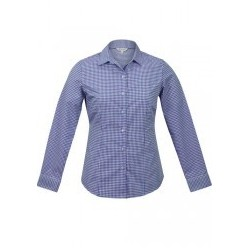 Ladies Epsom Long Sleeve Shirt Mauve - 2907L