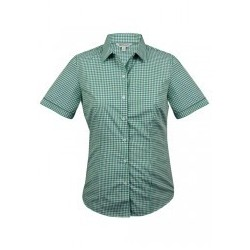 Ladies Epsom Short Sleeve Shirt Emerald - 2907S