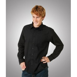 Poplin Business Shirt, Long Sleeve - B03