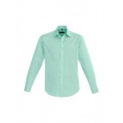 Hudson Mens Long Sleeve Shirt Dynasty Green - 40320