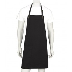 LUCA, Canvas Bib Apron with PVC Detachable Strap (A21) - A20